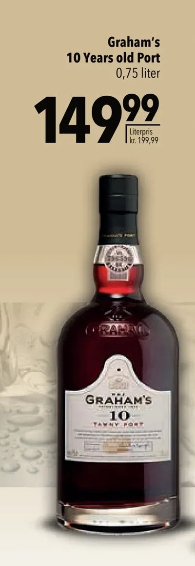 Graham's 10 Years old Port