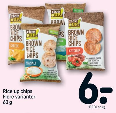 Rice up chips