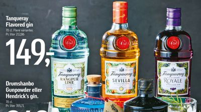 Tanqueray Flavored gin