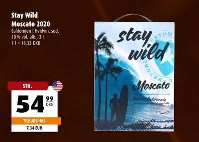 Stay Wild Moscato 2020