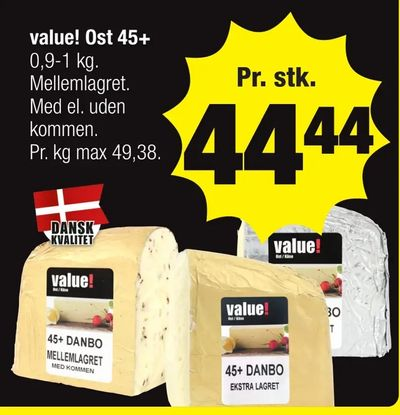 value! Ost 45+