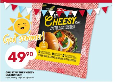 Grilstad the cheesy one burger