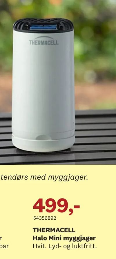 THERMACELL Halo Mini myggjager