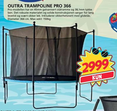 Outra trampoline pro 366
