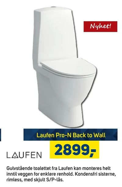 Laufen Pro-N Back to Wall