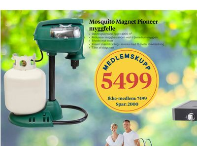 Mosquito Magnet Pioneer myggfelle