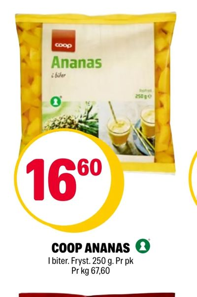 Coop ananas