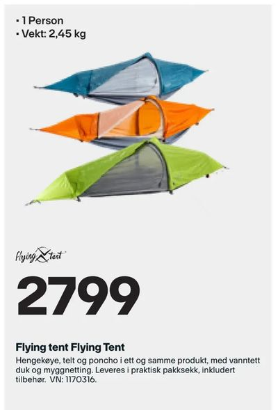 Flying tent Flying Tent