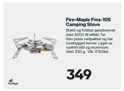 Fire-Maple Fms-105 Camping Stove
