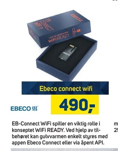 Ebeco connect wifi