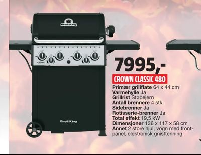 Crown classic 480