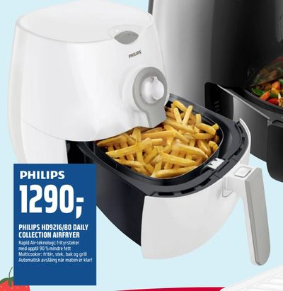 Philips hd9216/80 daily collection airfryer