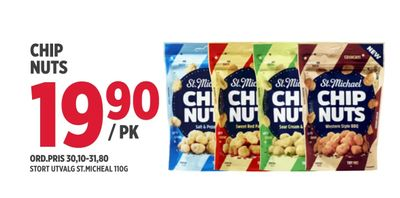 Chip nuts
