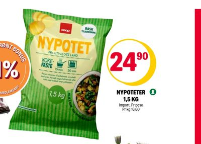 Nypoteter 1,5 kg
