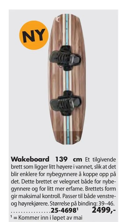 Wakeboard 139 cm