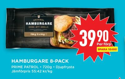 Hamburgare 8-pack