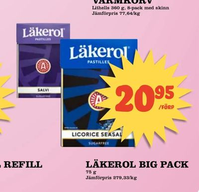 Läkerol big pack