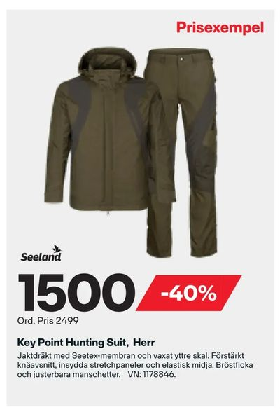 Key Point Hunting Suit, Herr