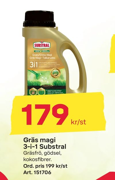 Gräs magi 3-i-1 Substral