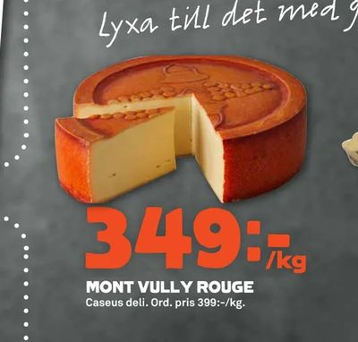 Mont vully rouge