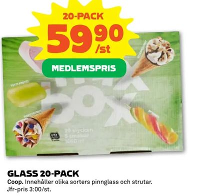 Glass 20-pack