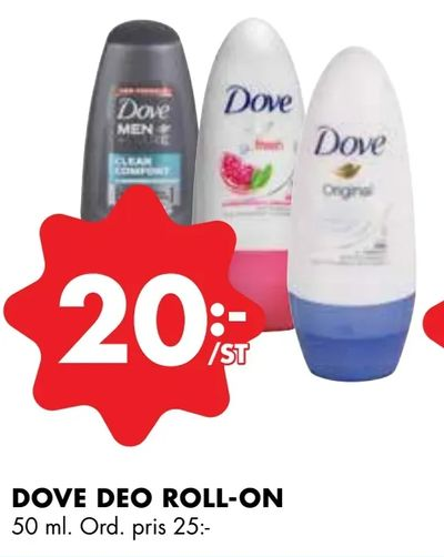 Dove deo roll-on