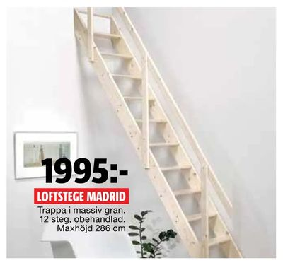 Loftstege madrid