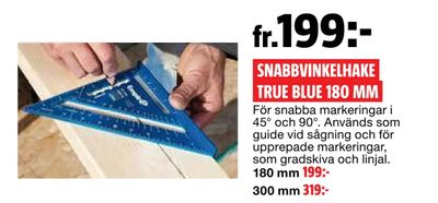 Snabbvinkelhake true blue 180 mm