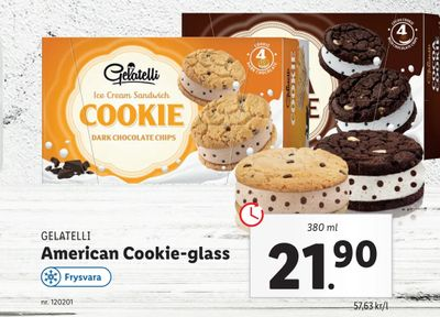 American Cookie-glass