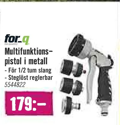 Multifunktionspistol i metall