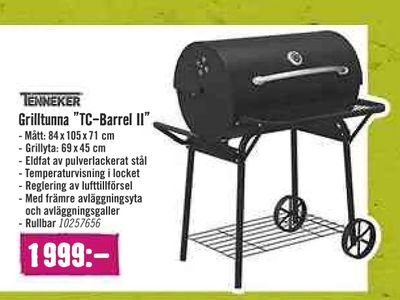 "Grilltunna ""TC-Barrel II"""