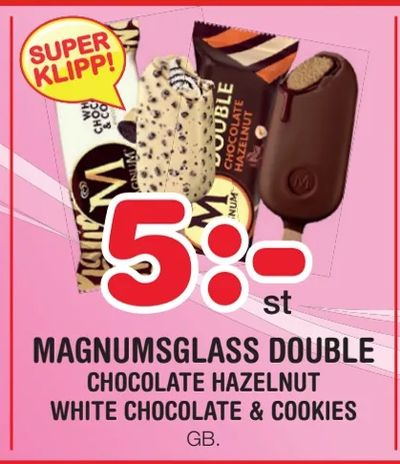 Magnumsglass double