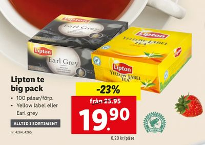 Lipton te big pack