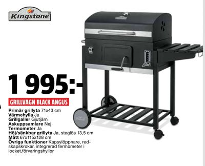 Grillvagn black angus