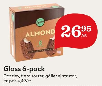 Glass 6-pack