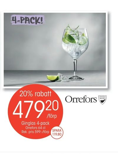 Ginglas 4-pack