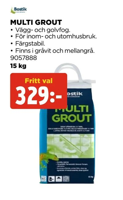 Multi grout