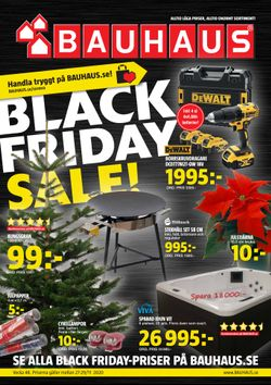 BAUHAUS Reklamblad v48 - Black Friday